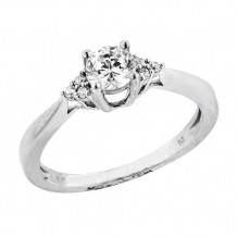 Simply Diamonds 14k White Gold 0.50ct Diamond Engagement Ring - RGO2468-W4C_MB
