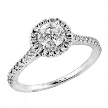 Simply Diamonds 14k White Gold 1.00ct Diamond Engagement Ring - RGO1822-W4W-IN_MB_MB