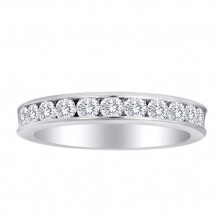 Simply Diamonds 14k White Gold 0.75ct Diamond Wedding Band