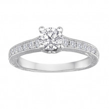 Simply Diamonds 14k White Gold .75ct Diamond Fashion Ring - RGO3969-W4C-IN_MB