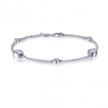 Lafonn Monte Carlo Sterling Silver Simulated Diamond Bracelet