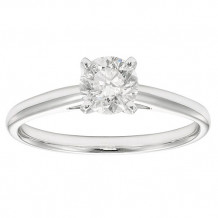 Simply Diamonds 14k White Gold 0.75ct Diamond Engagement Ring - SOL75CFRD-WG-IN_MB