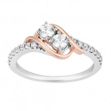 Simply Diamonds 14k White and Rose Gold 0.50ct Diamond Engagement Ring - RGO5513-WP4W-IN_MB