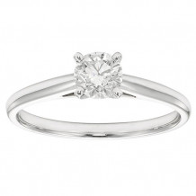 Simply Diamonds 14k White Gold 0.33ct Diamond Engagement Ring