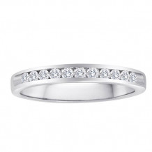 Simply Diamond 14k White Gold 0.33ct Diamond Wedding Band - WB33RD-W4W-IN_MB