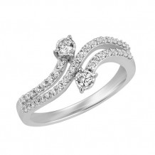 Simply Diamonds 14k White Gold .33ct Diamond Engagement Ring - RGO5475-W4W-IN_MB
