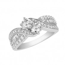 Simply Diamonds 14k White Gold 1.00ct Diamond Engagement Ring - RGO5462-W4W-IN_MB