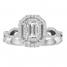 Simply Diamonds 14k White Gold 1.00ct Diamond Engagement Ring