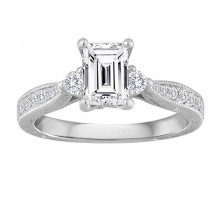 Simply Diamonds 14k White Gold 1.00ct Diamond Fashion Ring