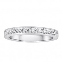 Simply Diamonds 14k White Gold 0.33ct Diamond Wedding Band - WB33PR-W4W-IN_MB