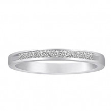 Simply Diamonds 14k White Gold 0.25ct Diamond Wedding Band - WB25PR-W4W-IN_MB