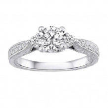 Simply Diamonds 14k White Gold 1.00ct Diamond Engagement Ring - RGO3970-W4C-IN_MB