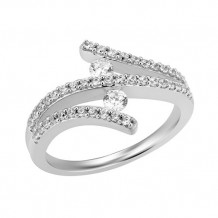 Simply Diamonds 14k White Gold 0.50ct Diamond Engagement Ring - RGO5609-W4W-IN_MB