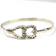 Wildwood Destination Diamond Cut Bangle Bracelet