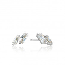Ania Haie Glow Getter Sterling Silver Stud Earrings