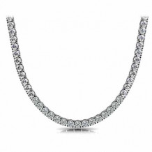 GN Diamond 18 Inch Straight 22.54ct Diamond Necklace