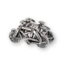 Wildwood Destination Double Bicycles Charm