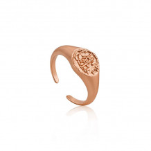 Ania Haie Coins Rose Gold Tone Ring