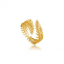 Ania Haie Tropic Thunder Gold Tone Ring