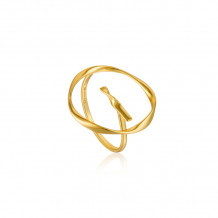 Ania Haie Twister Gold Tone Ring