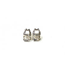 Sterling Silver Wildwood Destination Diamond Cut Earrings